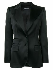 Dolce & Gabbana single breasted blazer - Black