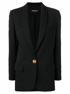 Balmain single-breasted blazer - Black