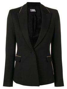 Karl Lagerfeld Tailored Summer Blazer - Black