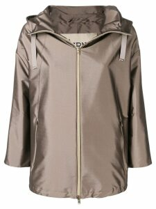 Herno fitted lightweight jacket - Brown