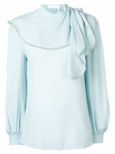 See By Chloé draped detail blouse - Blue