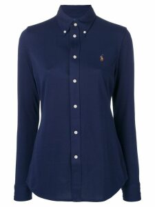 Polo Ralph Lauren logo fitted shirt - Blue