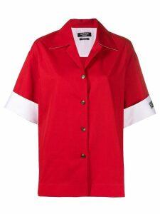 Calvin Klein 205W39nyc logo sleeve shirt - Red