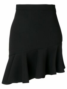 MSGM ruffled hem skirt - Black