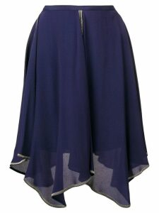 See By Chloé draped skirt - Blue