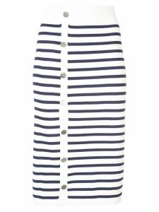 Altuzarra Enya striped skirt - White