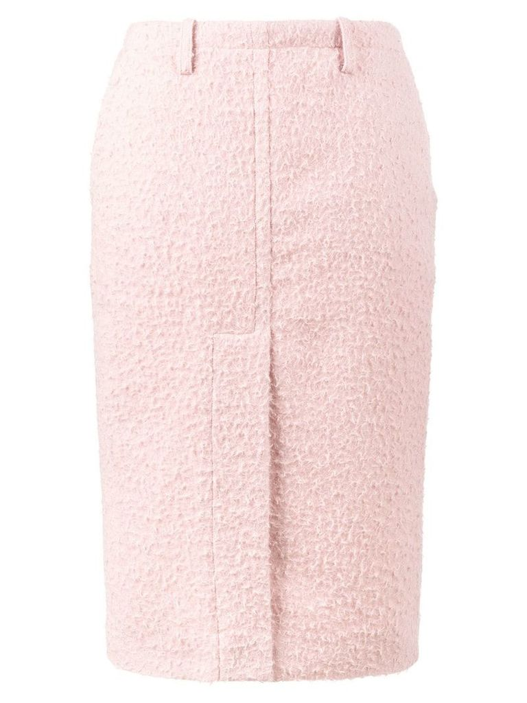 Marni brushed pencil skirt - Pink