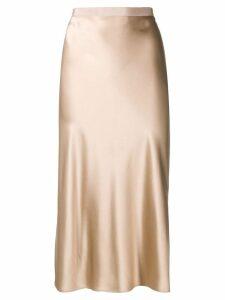 Joseph draped straight skirt - Neutrals