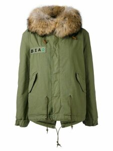 Mr & Mrs Italy customisable mini parka - Green