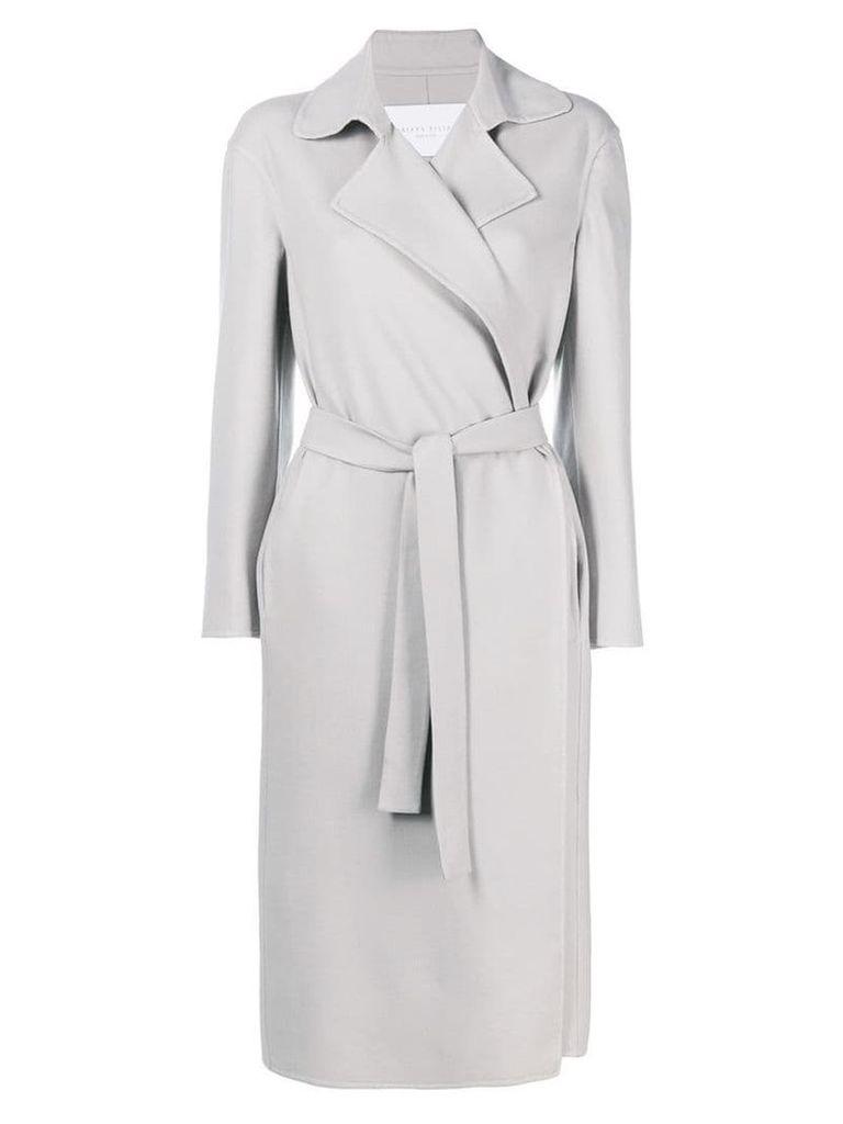 Fabiana Filippi belted trench coat - Grey