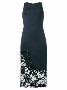 Haney Natasha lace insert dress - Blue