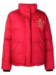 Polo Ralph Lauren polo player puffer jacket - Red