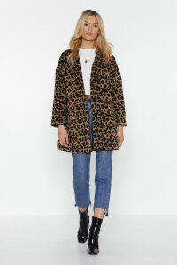 This Ones Fur You Leopard Coat