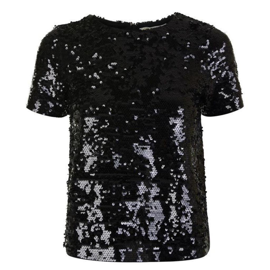 MICHAEL MICHAEL KORS Sequin T Shirt