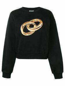 Kenzo printed sweater - Black