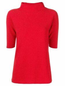 Fabiana Filippi shortsleeved sweater - Red