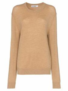 Jil Sander crew neck sweater - Neutrals
