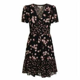 MICHAEL MICHAEL KORS Mixed Rose Georgette Dress
