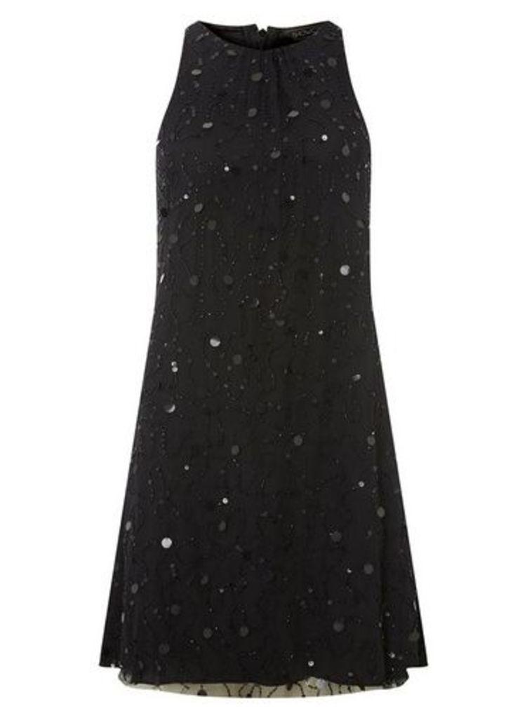 Womens **Showcase Black Trapeze Dress- Black, Black