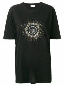 Saint Laurent printed T-shirt - Black