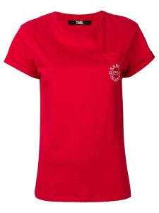Karl Lagerfeld logo T-shirt - Red