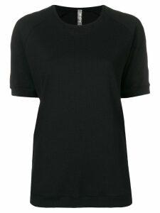 No Ka' Oi taped sleeve T-shirt - Black