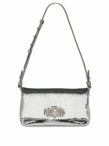 Miu Miu sequin shoulder bag - Silver