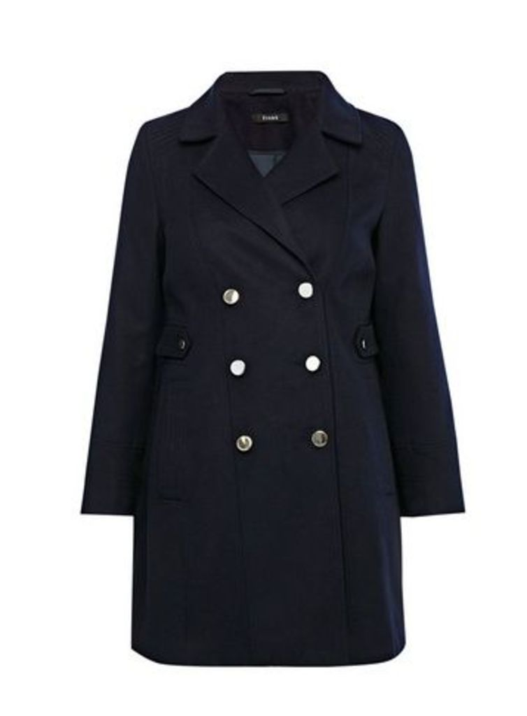 Navy Blue Military Coat, Navy