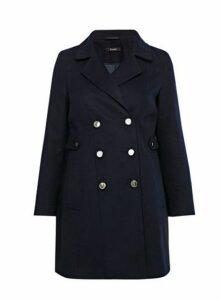 Navy Blue Military Coat, Navy