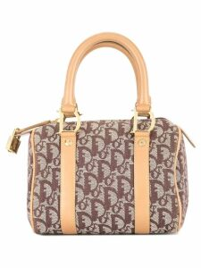 Christian Dior Pre-Owned Trotter mini hand bag - Brown