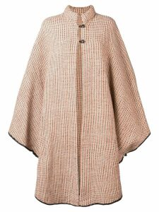 A.N.G.E.L.O. Vintage Cult 1970 oversized cape - Neutrals