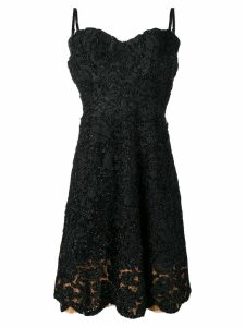 A.N.G.E.L.O. Vintage Cult 1950 embroidered lace dress - Black
