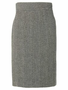 Prada Pre-Owned knitted midi skirt - Grey