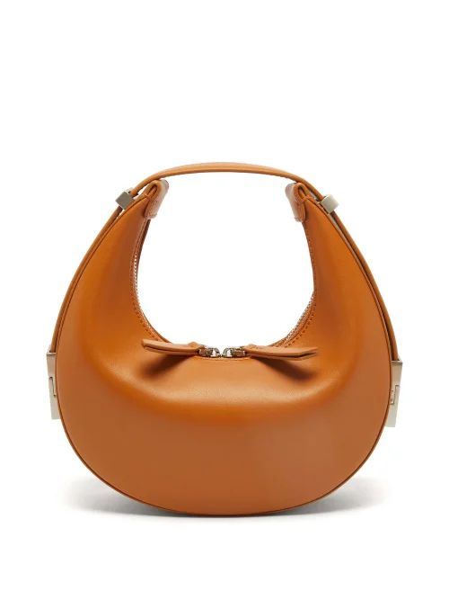 Staud - Bisset Leather & Pvc Bucket Bag - Womens - Black