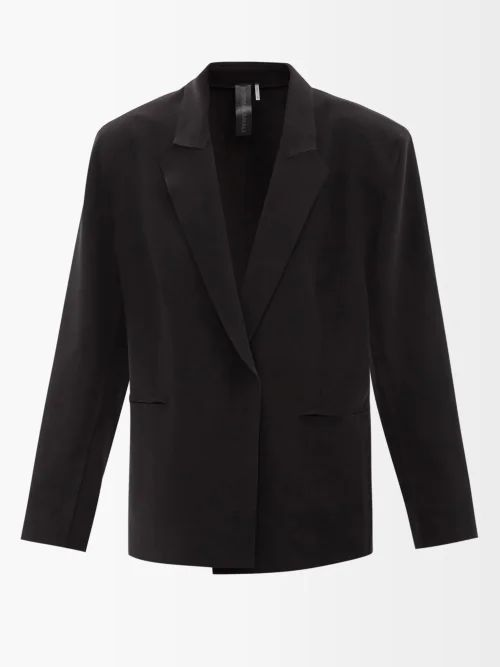 Jw Anderson - X Gilbert & George Print Canvas Bag - Womens - Black Multi