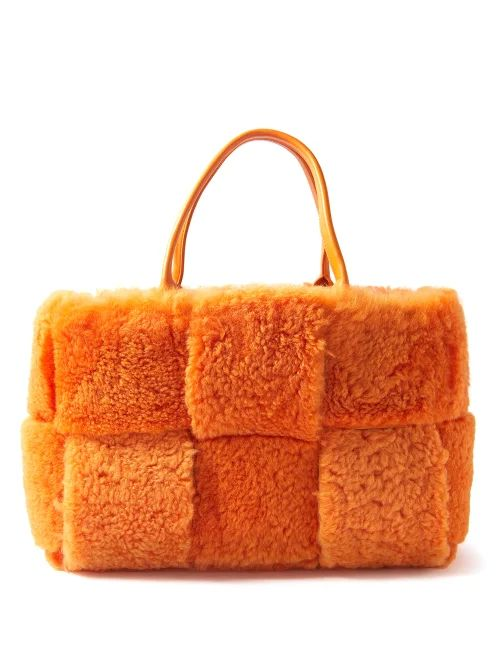 Balenciaga - Ville Xs Leather Cross Body Bag - Womens - Red