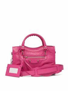 Balenciaga - Classic City Mini Leather Bag - Womens - Pink