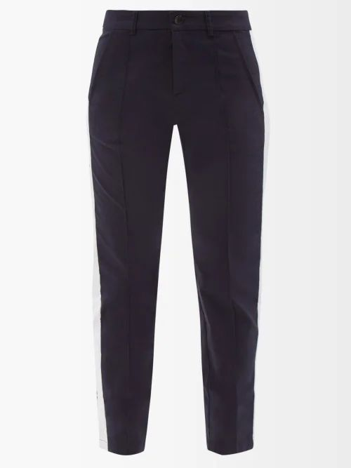 Valentino - Rockstud Leather Mini Hobo Bag - Womens - Black
