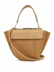 Wandler - Hortensia Medium Corduroy Shoulder Bag - Womens - Tan