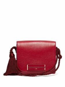 Hillier Bartley - Logo Stamp Leather Shoulder Bag - Womens - Red
