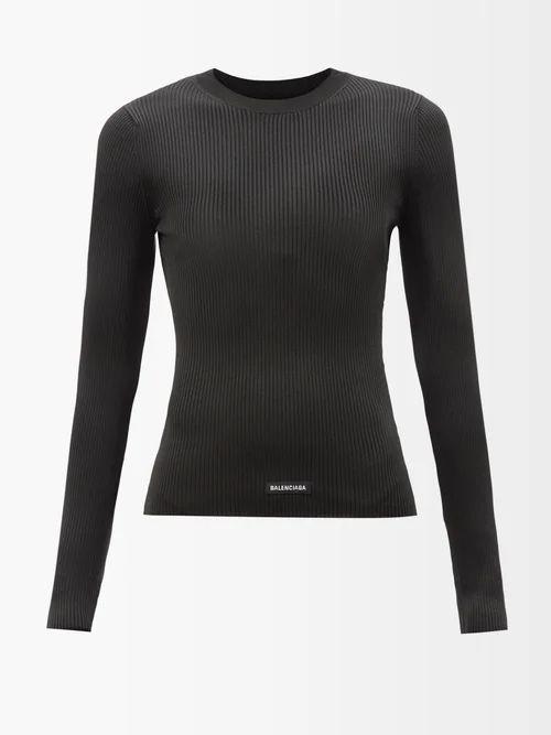 Innika Choo - Gingham Cotton Summer Jacket - Womens - Blue White