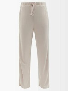 My Beachy Side - Beaded Crochet Knit Beach Dress - Womens - Gold