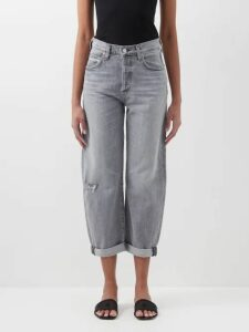 Adriana Degreas - Mille Puncti Polka Dot Silk Skirt - Womens - Green White