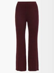 Innika Choo - Tiered Ruffle Trimmed Ramie Mini Dress - Womens - Green