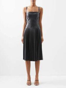 Le Sirenuse, Positano - Stella Moleculay Print Cotton Voile Midi Dress - Womens - Blue Print
