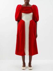 Lisa Marie Fernandez - Ruched Wet Look Mini Skirt - Womens - Black