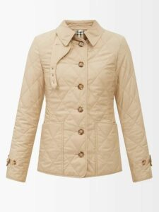 My Beachy Side - Bisou V Neck Crocheted Knit Cotton Midi Dress - Womens - White Multi