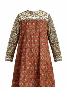 Muzungu Sisters - Lily Bakhtiari Print Panel Cotton Dress - Womens - Multi