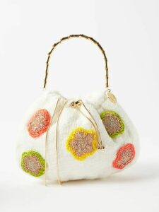 Albus Lumen - Fluir Silk-satin Midi Skirt - Womens - Dark Green