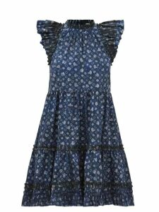 Etro - Bahidora Silk And Lace Shirt - Womens - White Black